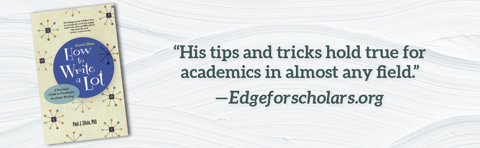 How to Write a Lot A Practical Guide to Productive Academic Writing book tips and tricks