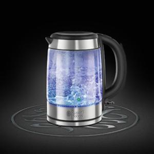 Russell Hobbs,Su Isıtıcı,Mutfak Eşya, Yemek,Glass Su Isıtıcı,Fincan,