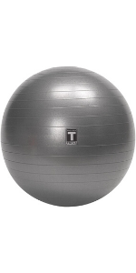 workout ball with base, theraball, holder, stability, resistance bands, storage, gym equipment