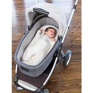 Clevamama ClevaFoam Colchón para Capazo y Carritos de Bebé 74x30 cm: Amazon.es: Bebé