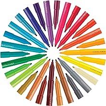 Connector Pen, Colour Marker, Colour Range, Vibrant, Bright, Brilliant, Variety, Creativity
