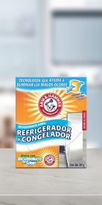 Bicarbonato de sodio, refrigerador, bicarbonato puro, pureza profunda, para salsa, arm and hamme