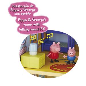 Amazon.es: Peppa Pig - Casa Gigante De Madera: Juguetes y juegos