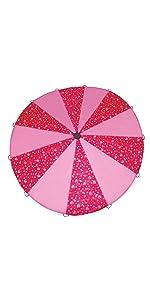 girls, parachute, play, pink