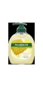 Palmolive vloeibare zeep.