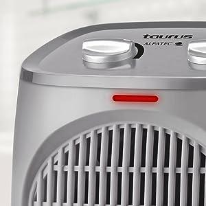 calefactor, calefacción, termoventilador, calefactor baño, aparato aire caliente baño, taurus,