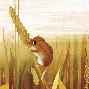 mouse, dormouse, wheat, fields, autumn, nature artwork, nature poetry, poetry anthology, poetry