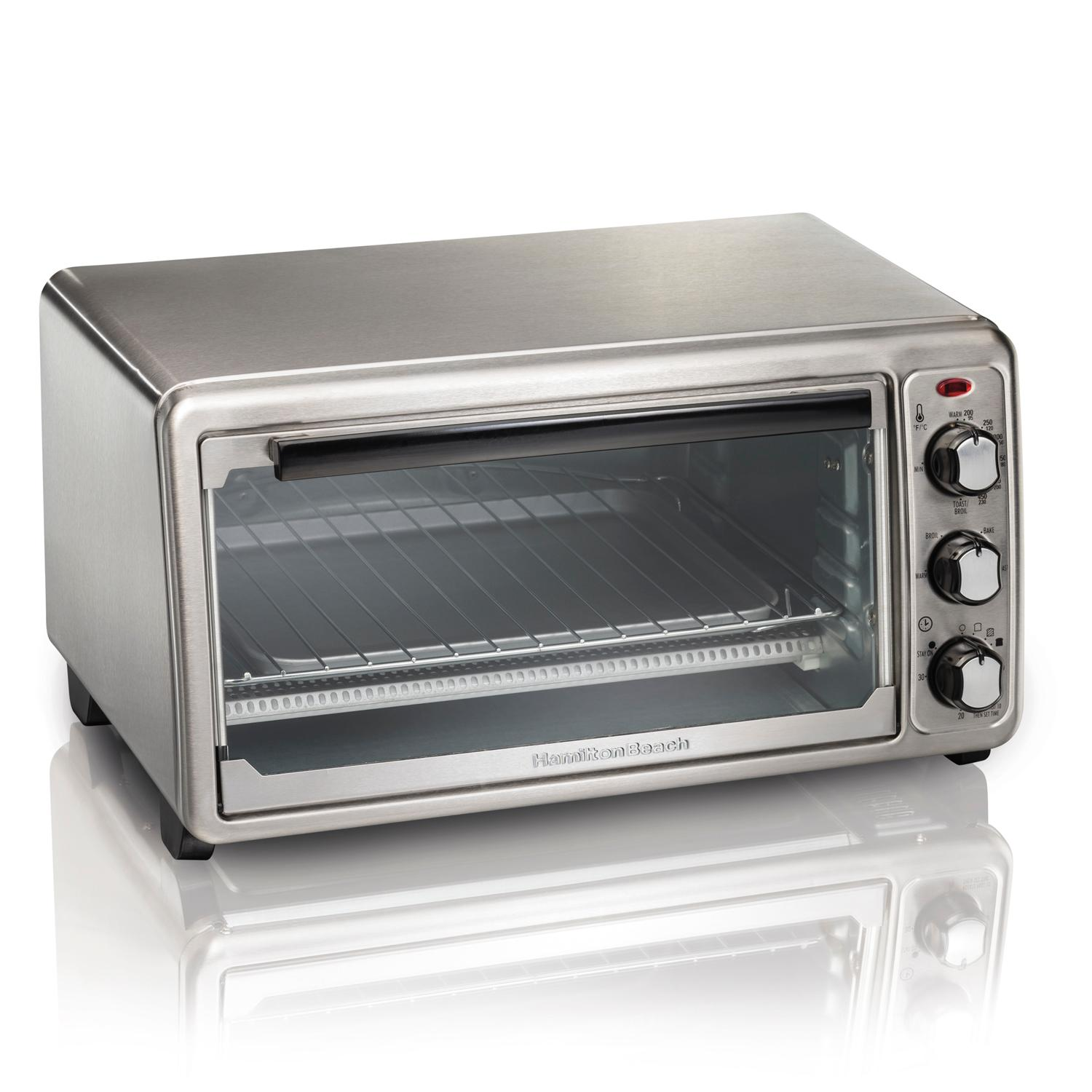 Amazon Com Hamilton Beach 31411 Toaster Oven Stainless