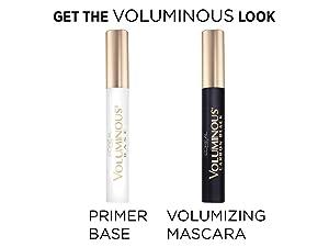 eyelash primer and mascara set