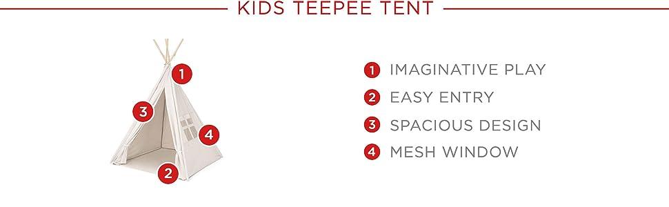 Amazon.com: Best Choice Products Carpa domo para niñ ...