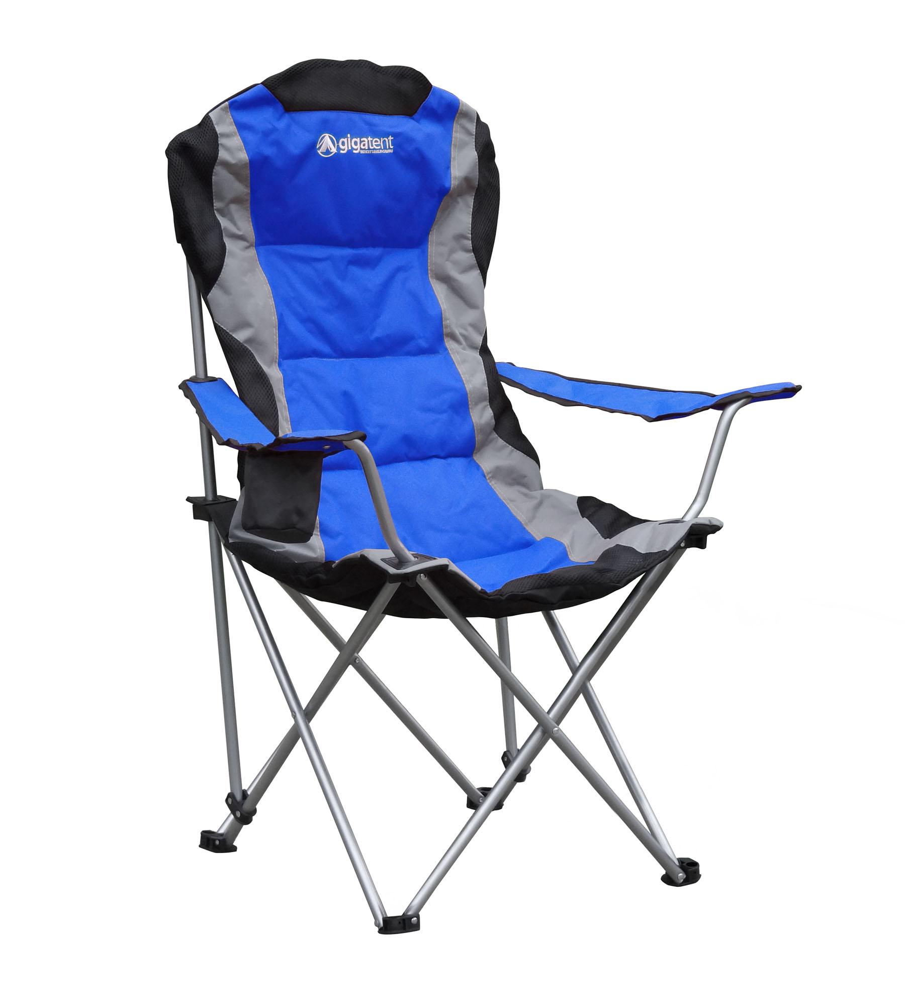 Amazon GigaTent Camping Chair Blue Sports & Outdoors