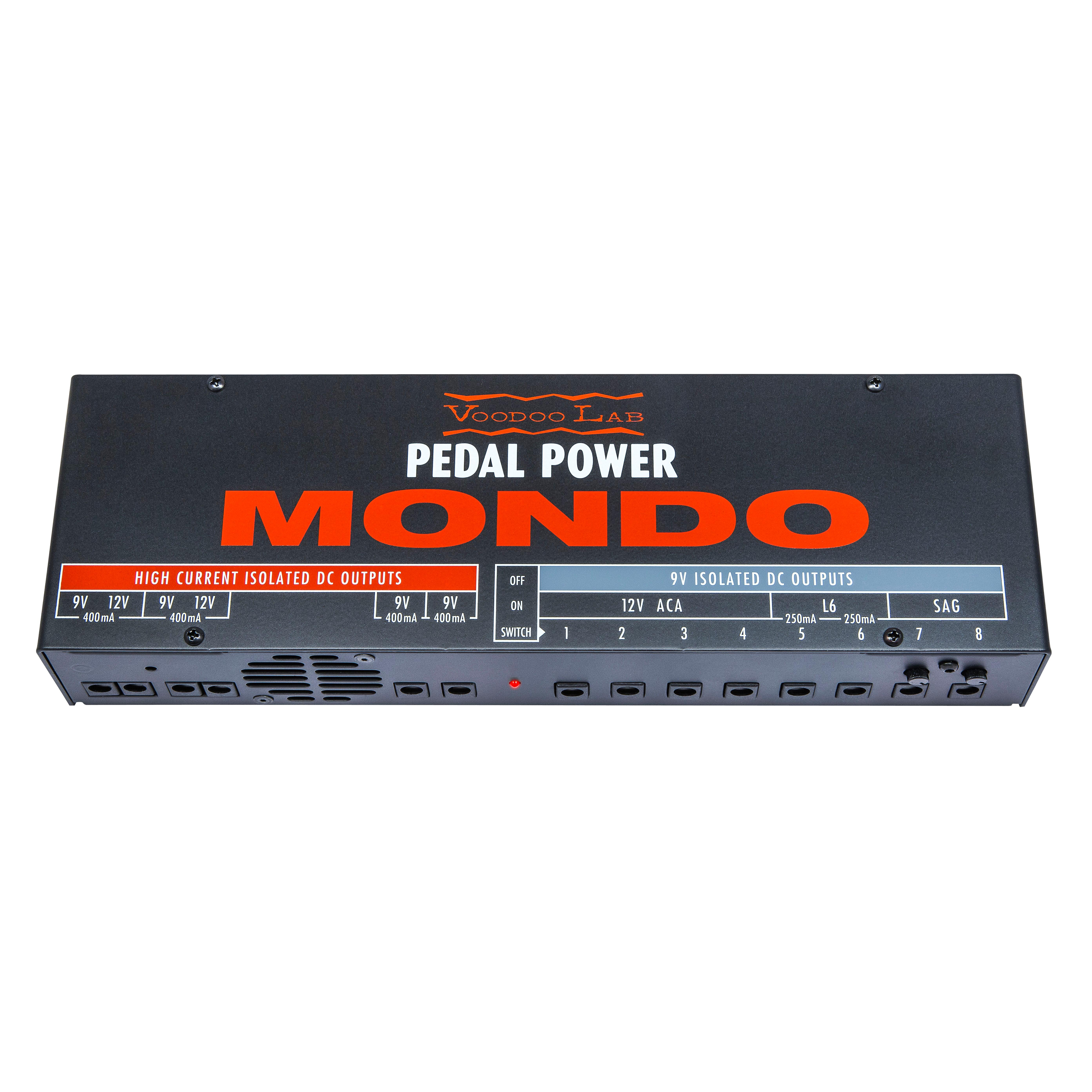 voodoo lab pedal power mondo isolated power supply musical instruments. Black Bedroom Furniture Sets. Home Design Ideas