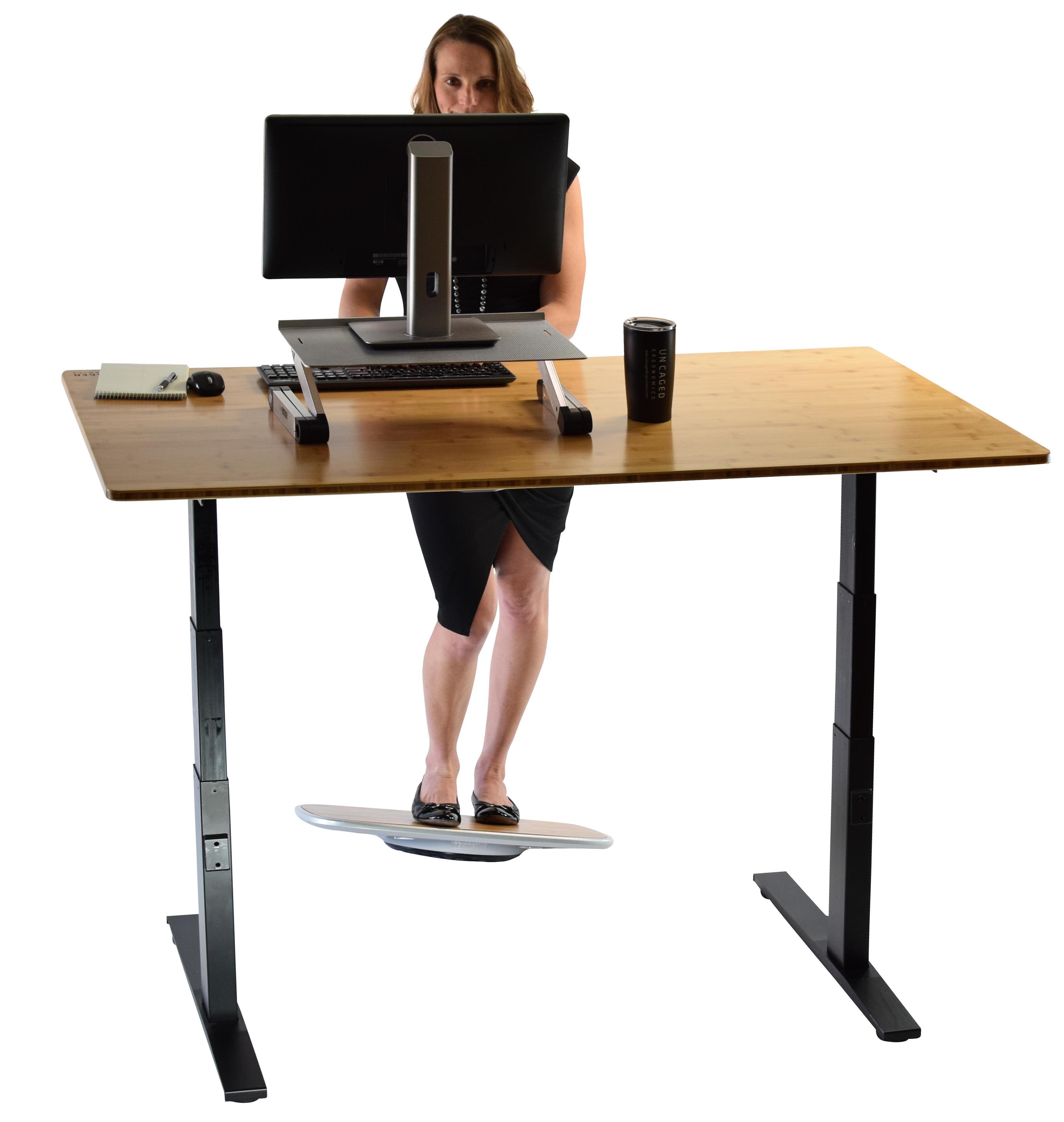 BASE Balance & Stability Board. Active Standing Desk