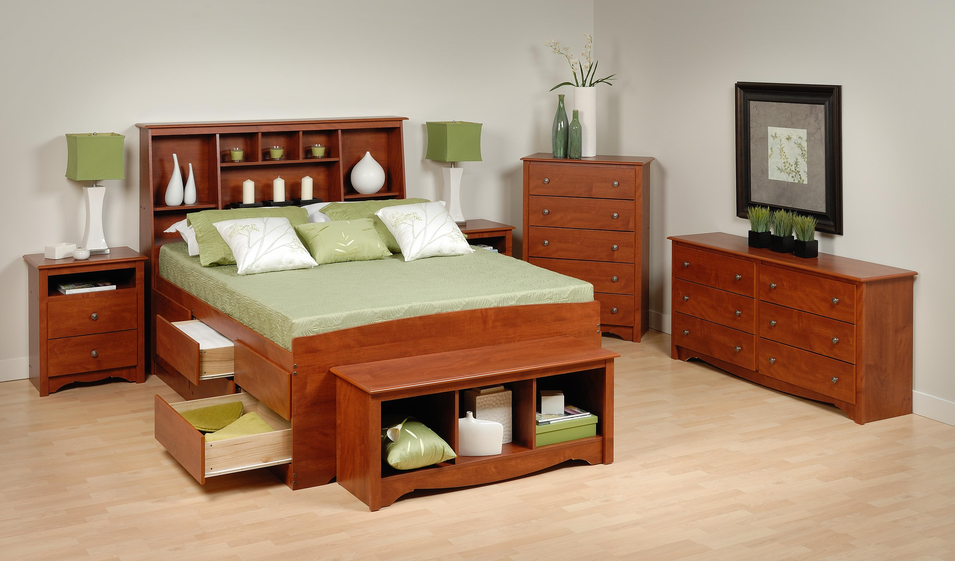 Bed furniture with drawers - From The Manufacturer
