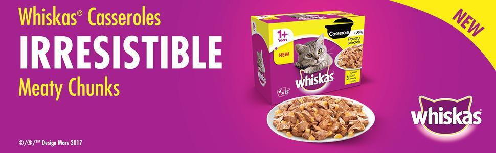 Whkskas Cat Food B M