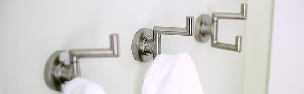 Speakman Sa 1008 Neo Double Robe Hook Bath Towel Hooks
