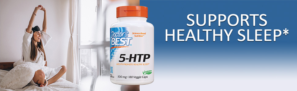 5-HTP healthy mood healthy sleep Enhances sense of well-being