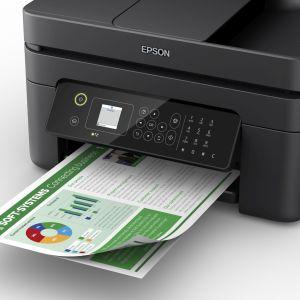 wf-2830, zakelijke printer, thuisprinter, werknemers, epson, individuele inkten, cartridge, papier