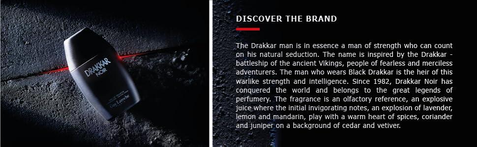 Drakkar Noir - about the brand
