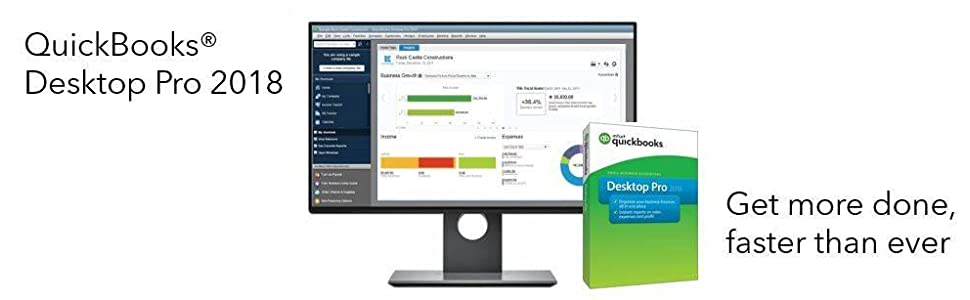 QuickBooks Desktop Pro 2018 [PC Online Code] [OLD VERSION]