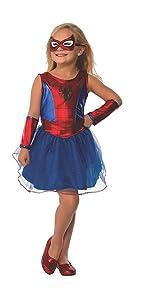 Girls Spider-Man Costume