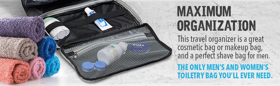 deodorant travel bag organization mens womens unisex lewis n clark mens tolietree travel bag travel