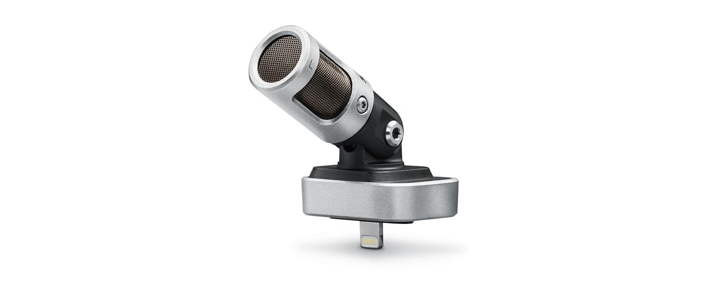 Shure MV88 Portable iOS Microphone for iPhone iPad iPod