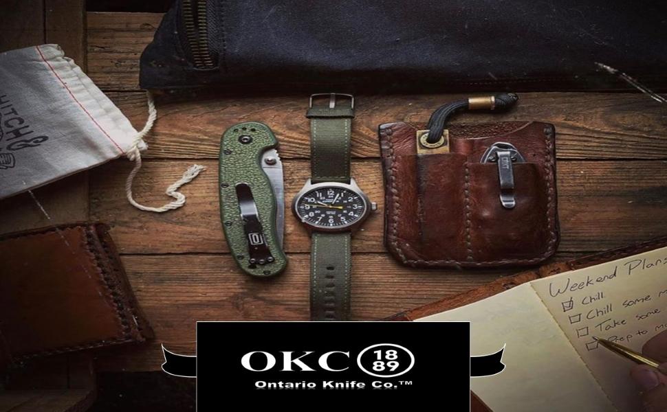 Ontario Knife Company okc knives
