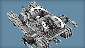 Opening cockpit