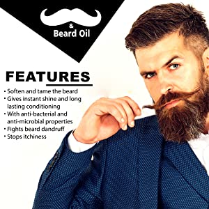 Features of beard oil