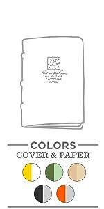 Staple notebook, stapled notebook, stapled journal, stapled book, stapled notepad, stapled note pad