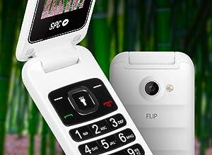 SPC, teléfono, móvil, SPC Flip, Dual SIM, bluetooth, 16GB,