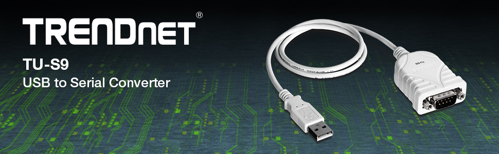 Amazon.com: TRENDnet USB to Serial Converter, Connect a RS-232