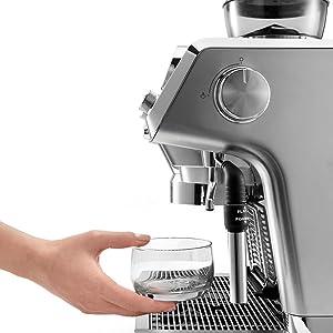 hot water coffee machine
