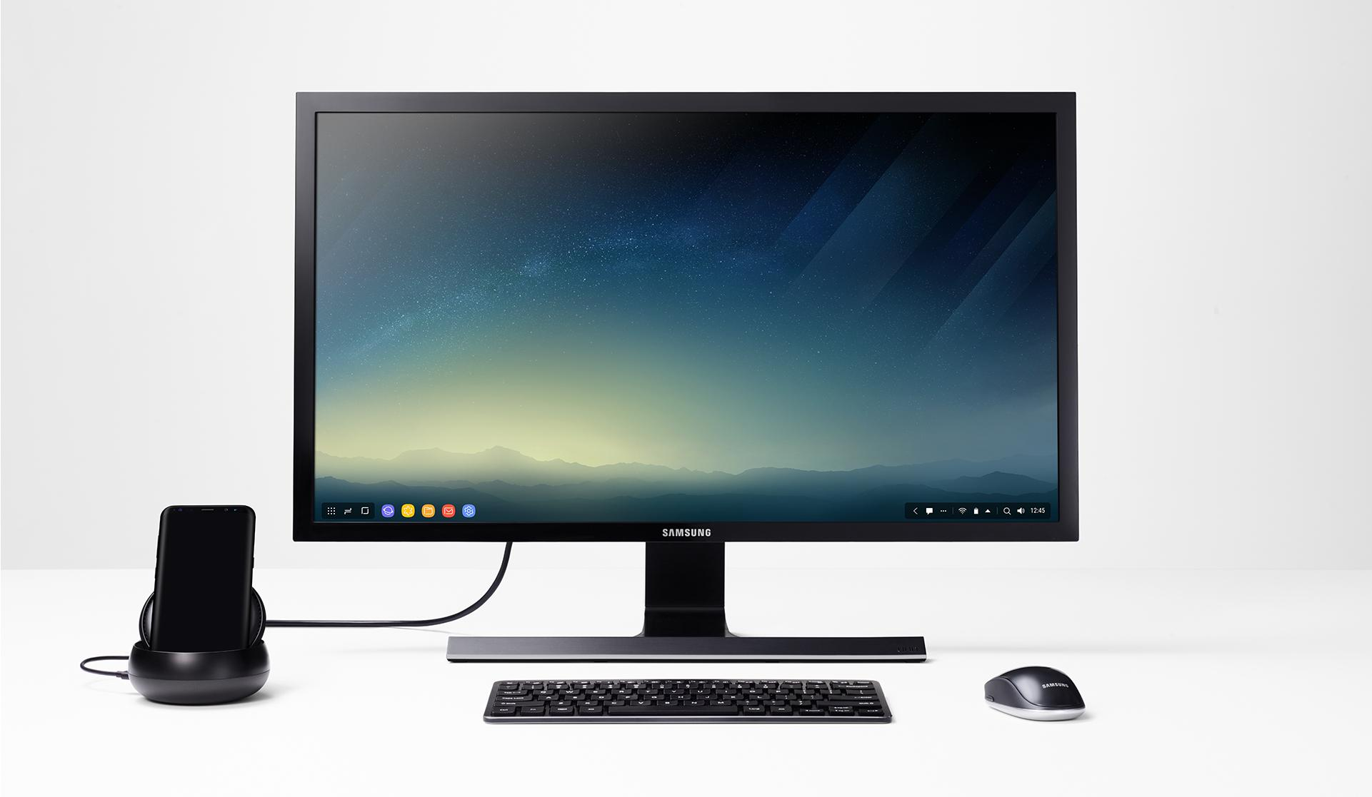 Amazon Com Samsung Dex Station Desktop Experience For