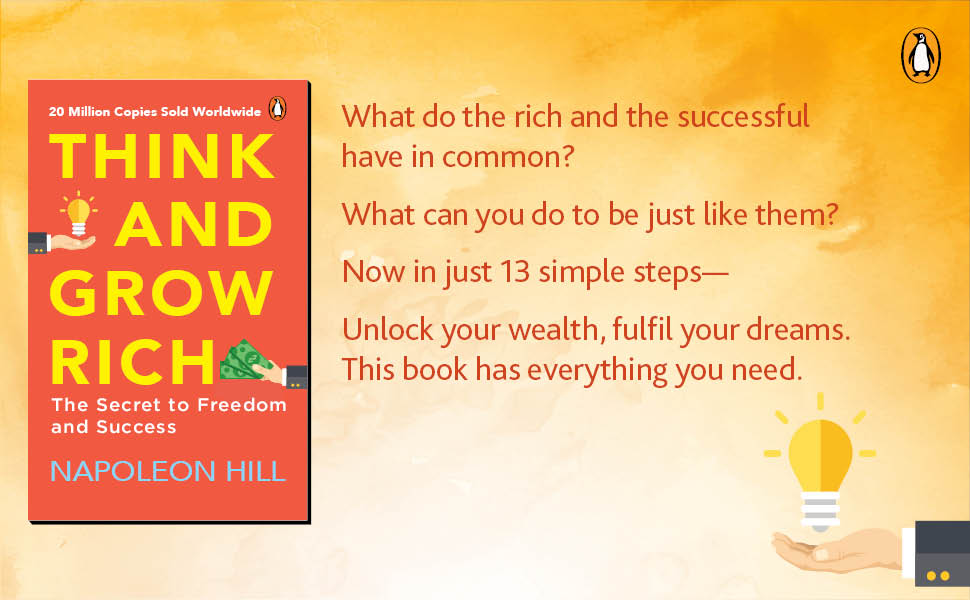 think and grow rich, self help book, business books, books under 200, money, wealth, investment