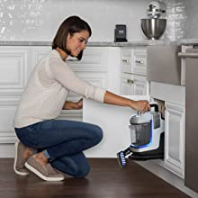 Scrub to lift and remove tough spots and unexpected spills on your carpets, stairs and upholstery.