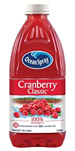 Ocean Spray Juice Cranberry Fruit Refresh Vitamin C Antioxidant Sweet