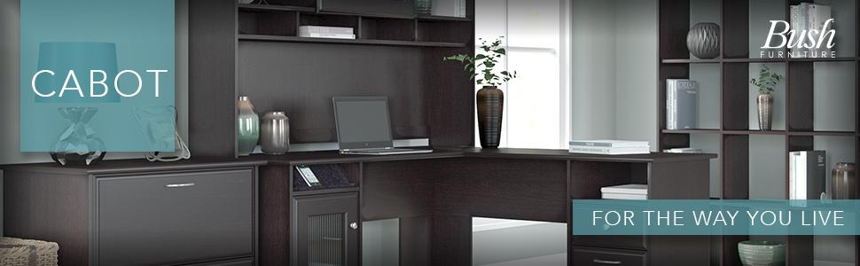 Bush Furniture Cabot Collection Office Home Desk