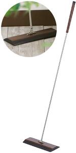 レック NATURA 天然木 ナチュラル フローリングワイパー (曲面状立体クッション)