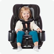simply safe adjust harness, headrest