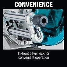 convenience in-front bevel lock convenient operation adjust move tilt