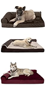 furhaven; product; comparison; dog; cat; pet; bed; l shaped; chaise