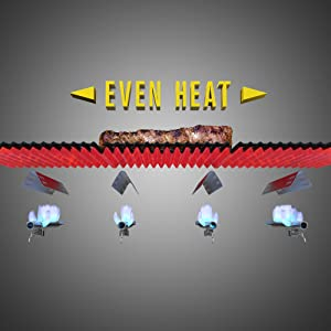 even,heat,hot,cold,spots,uneven,grill,surface,temperature,grilling,cooking