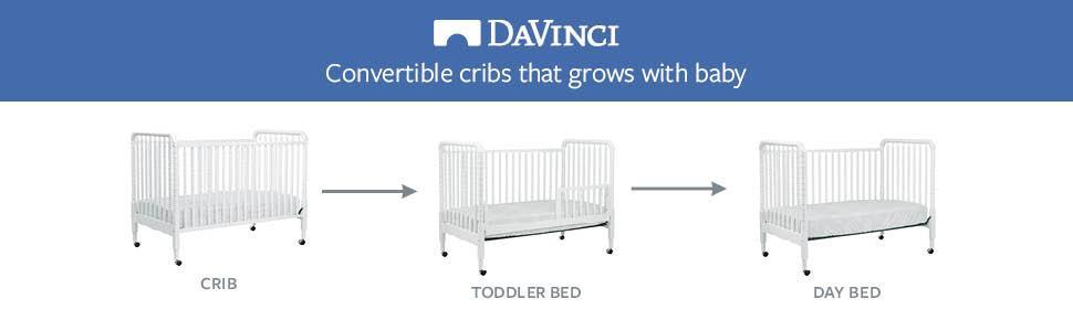 Amazon Com Davinci Jenny Lind Stationary Crib White Baby
