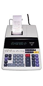 Sharp Canon Casio printing calculator