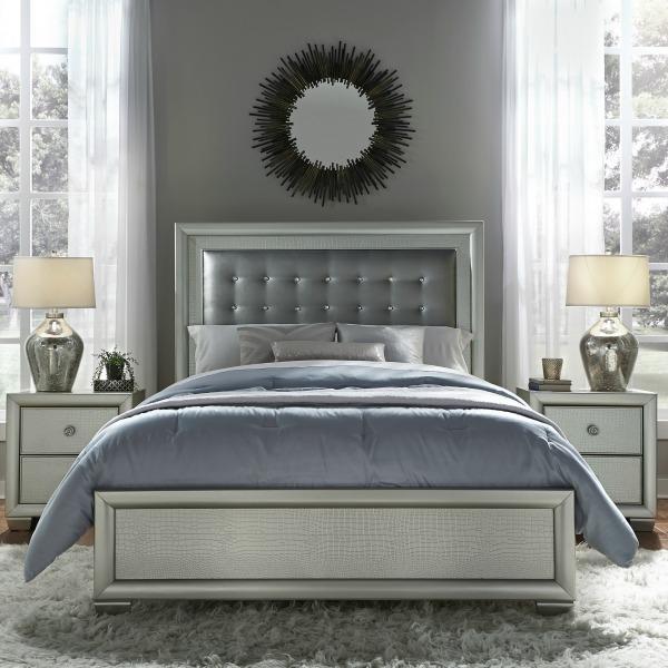 Amazon.com: Pulaski 5 Piece Celestial Bedroom Suite