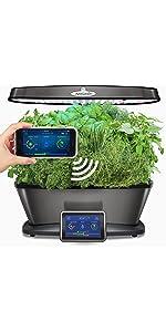 Amazon.com : AeroGarden Farm Plus Hydroponic Garden, 24 ...