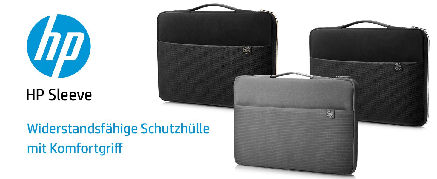 Hp Sleeve Schutzhülle Für Laptops Tablets Schwarz Computer Zubehör