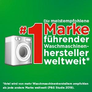 Najczęściej zalecana marka czołowych producentów pralek na całym świecie.